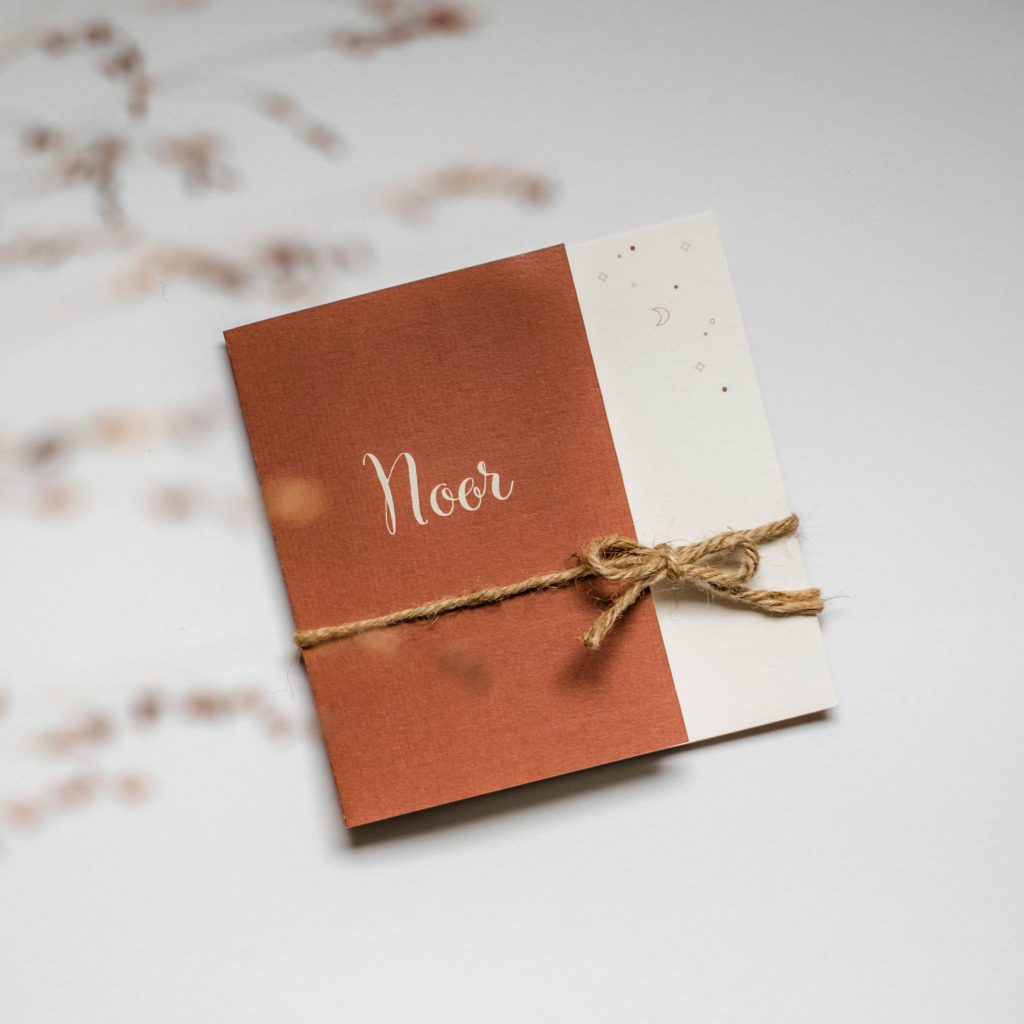 Geboortekaartje Noor
