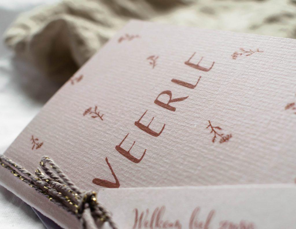 Geboortekaartje Veerle