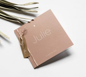 Geboortekaartje Julie